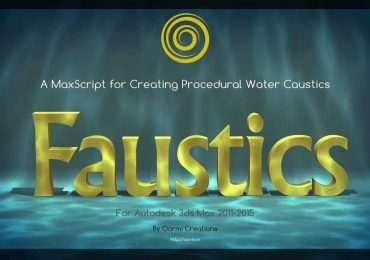 Faustics | Water Caustics effect in 3ds Max