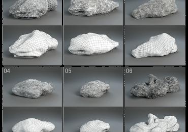 FREE Rock Pack vol.01 | Alab-rendering