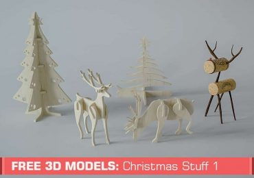 Free 3D models: Christmas Stuff  | Slice Cube Team