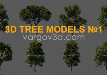 Free 3D tree models from Vargov3d