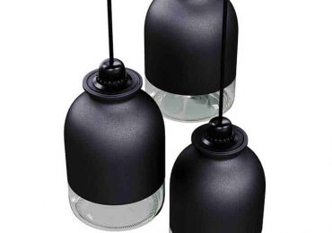 Jar lamp by Sergey Makhno