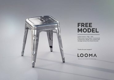 Tolix stool model | Nicolai Becker