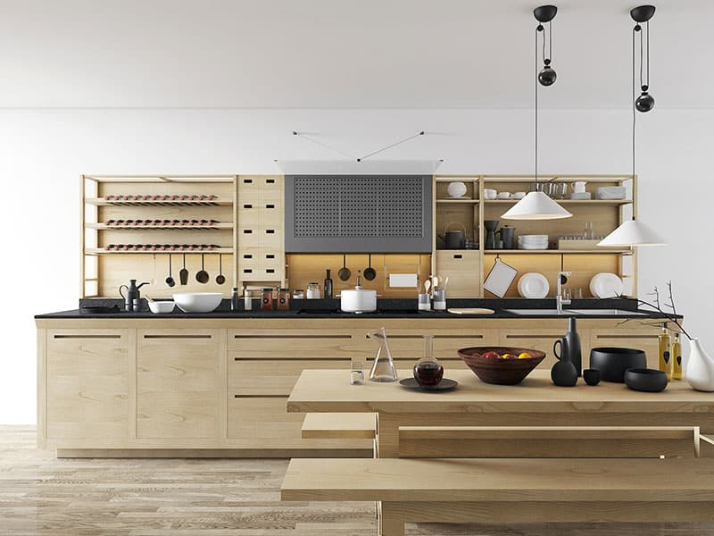 Free model Valcucine kitchen | Amr Moussa