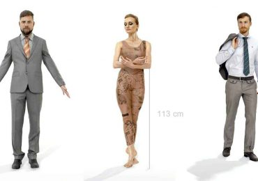 Free 3D Scanned People | AXYZ Design