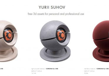 Free Corona Materials for C4D | Yurii suhov
