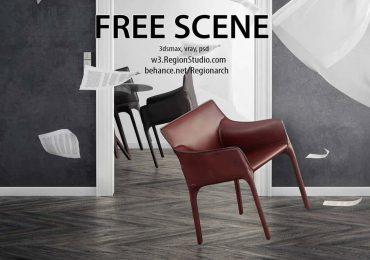 Free scene | Region Studio
