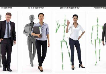Free 3D Model   Renderpeople