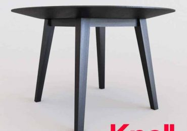 Risom Round Dining Table | 3dvisdis