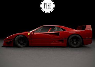 Free Model 3D Ferrari F40 | Matheus Kubota