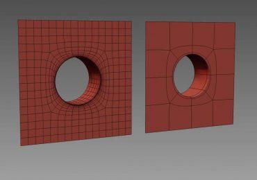 3 Ways To Make Circular Holes in 3DsMax