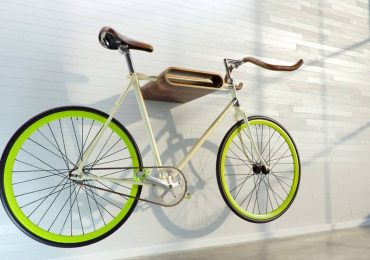 Free 3D Model – Bicycle on rack | VizpeopleBlog