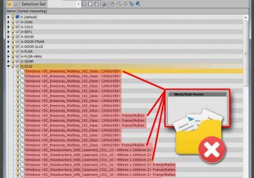 How to Delete AutoCAD block objects in 3DS Max