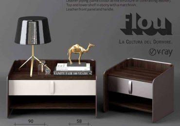 Free 3D Model Flou Gentleman Nightstand | Bao Doan