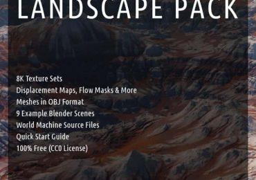 Free 8k Landscape textures Pack | Themantissa