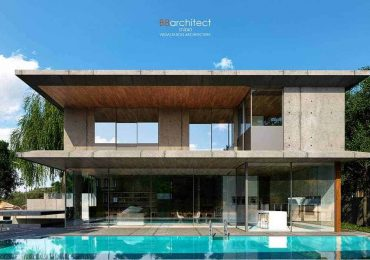 Free 3D Scene Concrete House | B8 Architect Studio