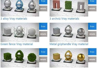 Free Vray for 3dsMax Materials   Aversis.be