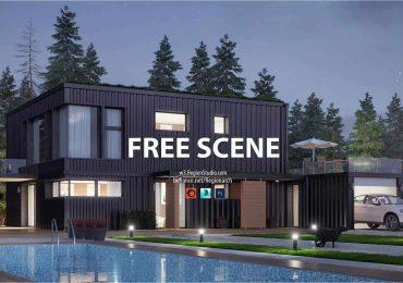 Free Corona Scene-Container House | Region Studio