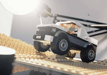 Free 3D Model – Lego truck | VizPeople Blog
