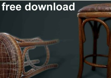 Free 3D model of a bench | Pogar Marius