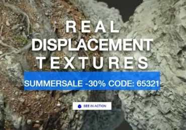SUMMER SALE 30% | Real Displacement Textures