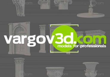 FREE 3D models Meccano for 3D Architects | Vargov3D