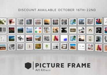 PICTURE FRAME ART KIT No.01 | Mellowmesher