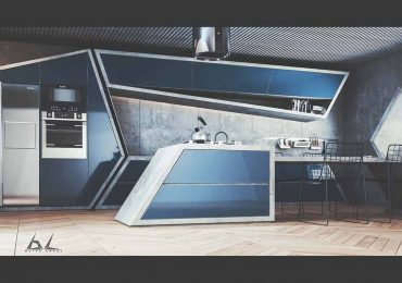 Free 3D Scene Future Kitchen | Burak LAFCI