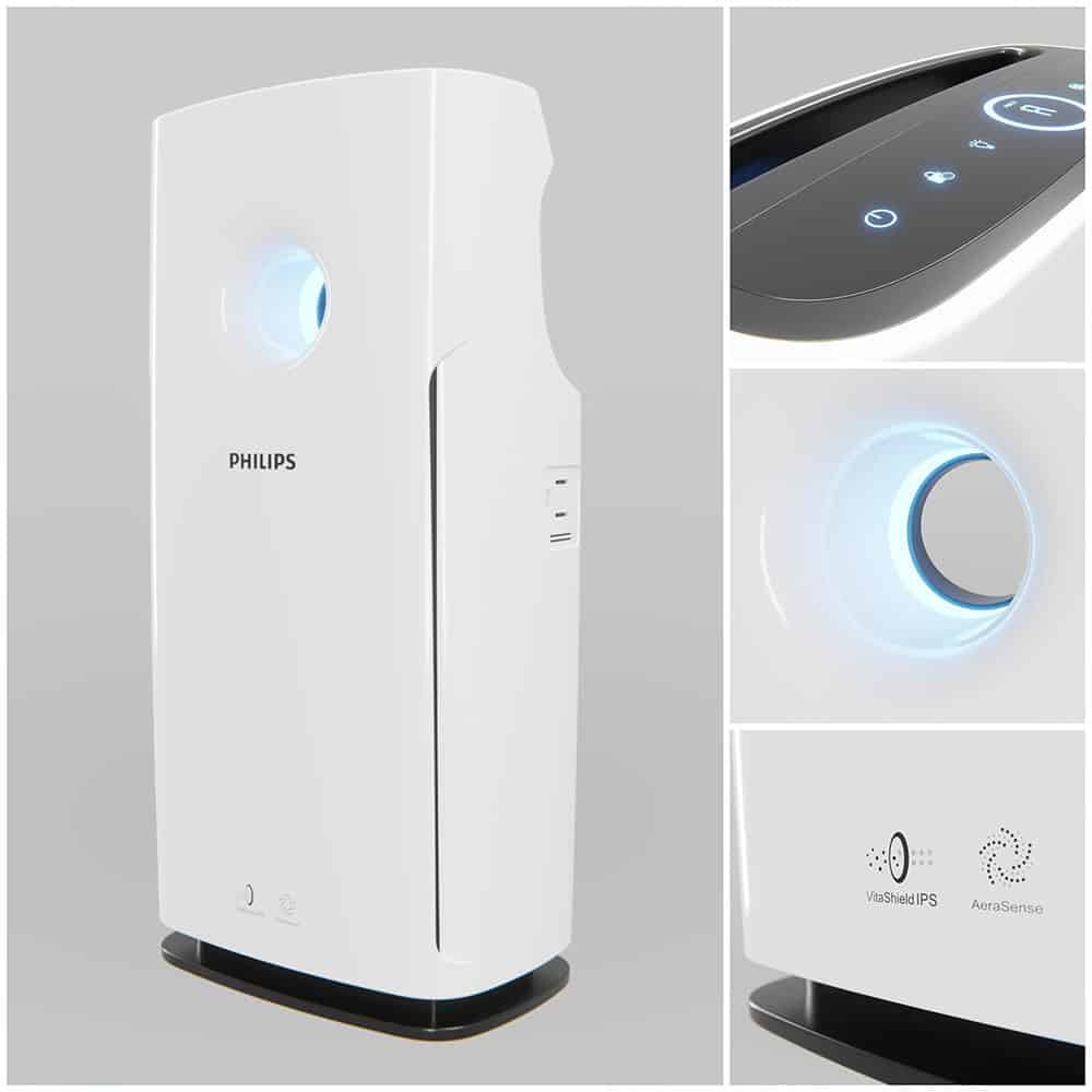 Free 3D Model Air Purifier | Laci Lacko