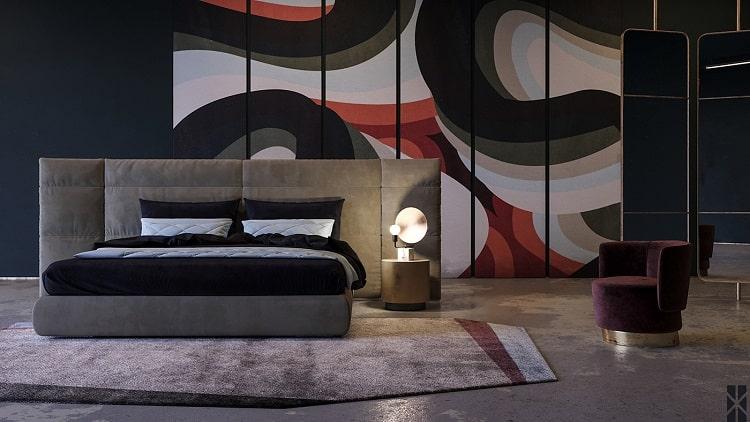 Free 3D Models Bedroom Baxter » Cgtricks | Tutorials, Tips