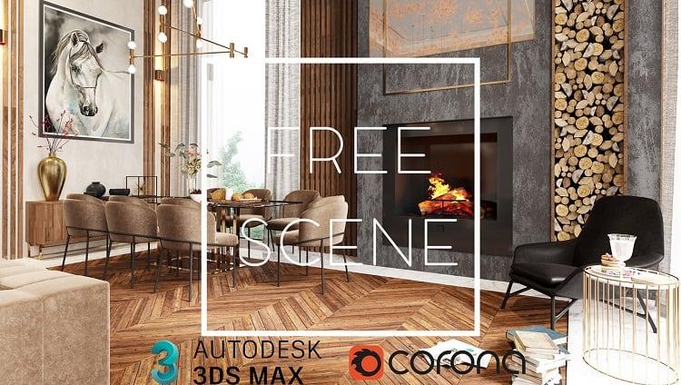 Download Free 3d Scene Villa Belek Ferhan Akyuz