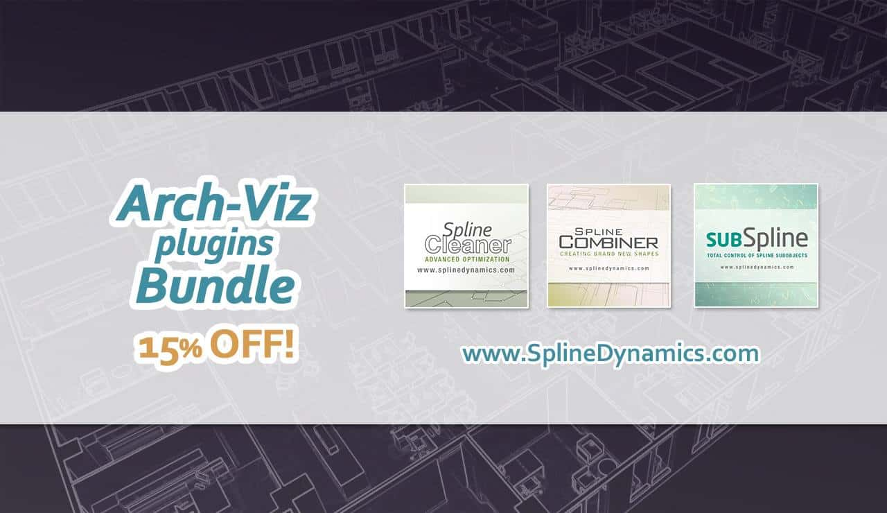 Arch-Viz Plugins Bundle | Spline Dynamics