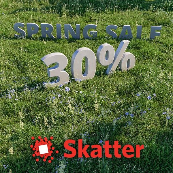 Skatter Spring Sale 2019