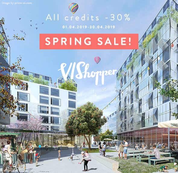 Vishopper Spring Sale 2019