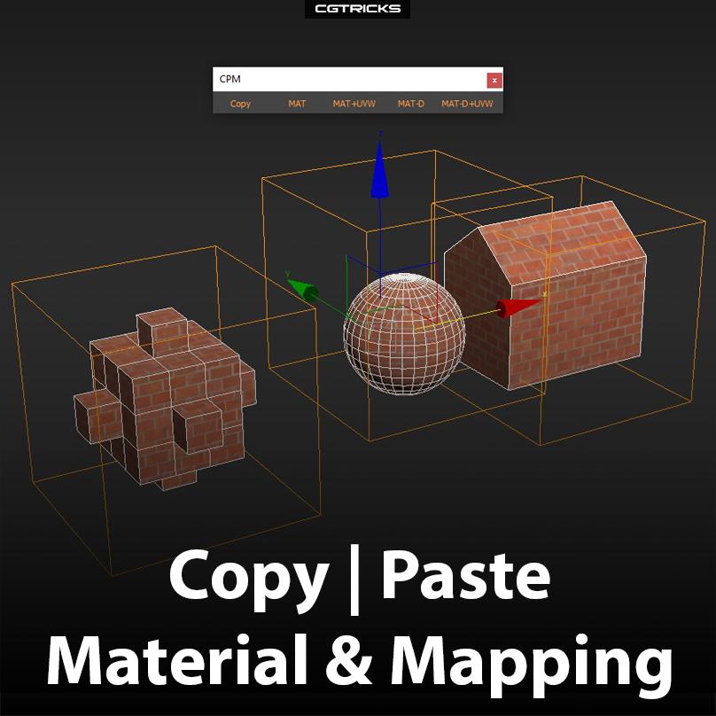 Copy Paste Material