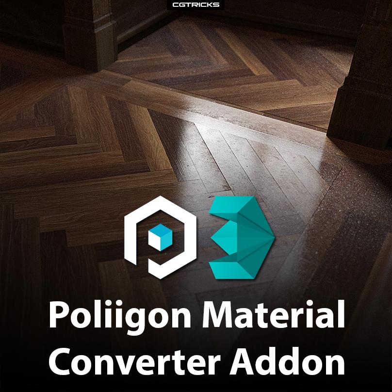 Poliigon Material Converter Addon