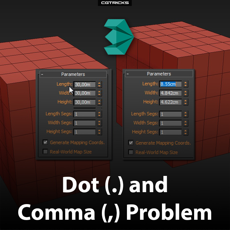 Dot (.) and Comma (,) problem | How to fix it?