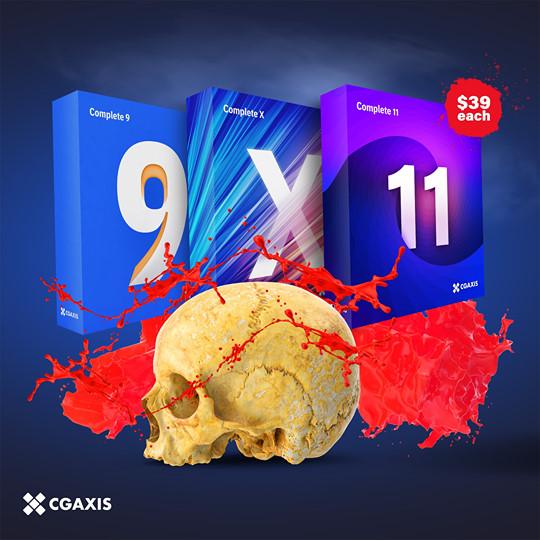 CGAxis Halloween Sale