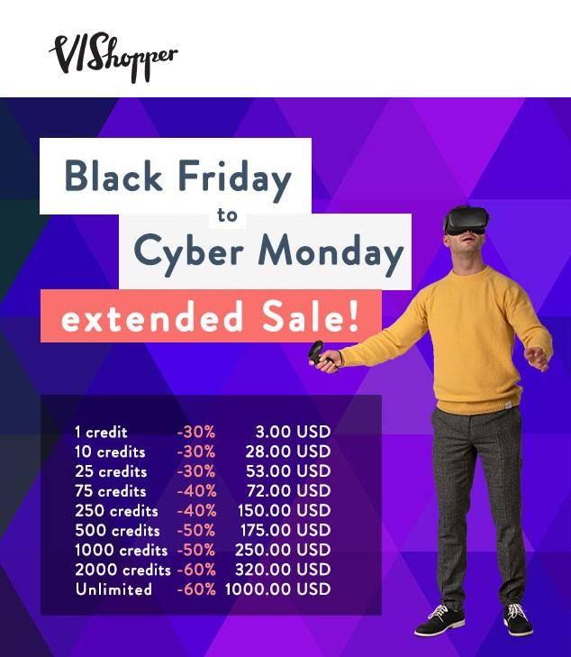 Black Friday Vishopper Widget