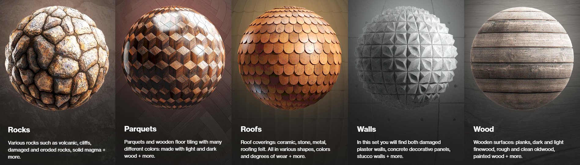PBR Textures Collection by CGAxis
