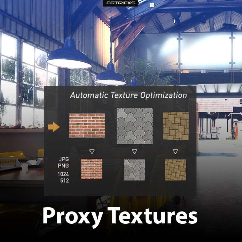 Proxy Textures