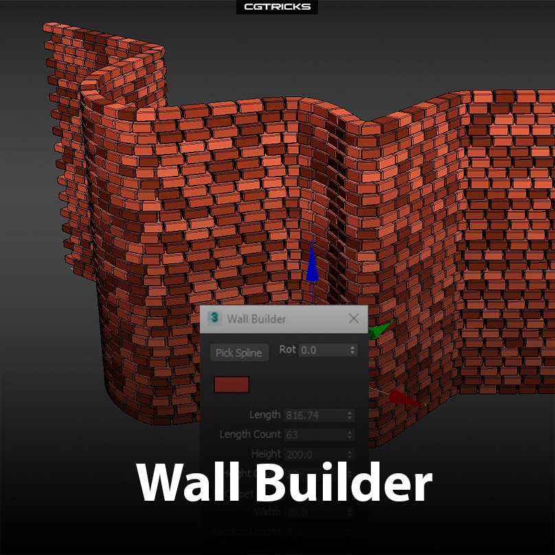 Wall Builder | New tool made by Kinematic Lab for walls creation