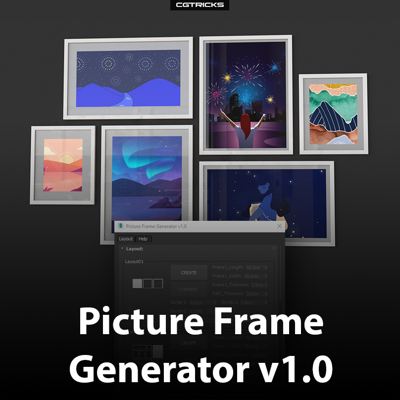 Picture Frame Generator
