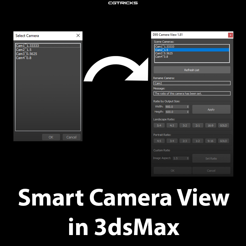 Smart Camera View | D95 Design Studio