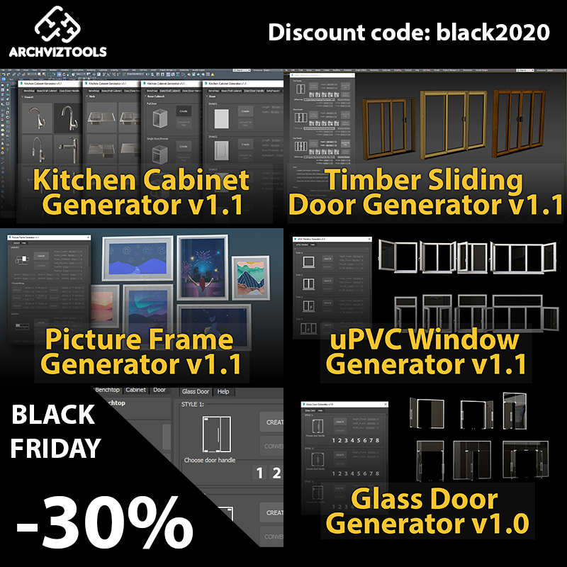 [Black Friday 2020] ArchvizTools