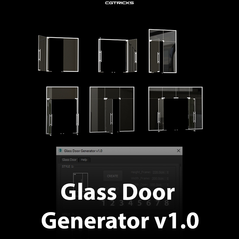 Glass Door Generator v1.0