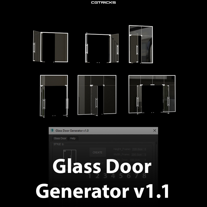 Glass Door Generator v1.1