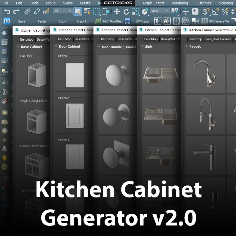 Kitchen Cabinet Generator v2.0