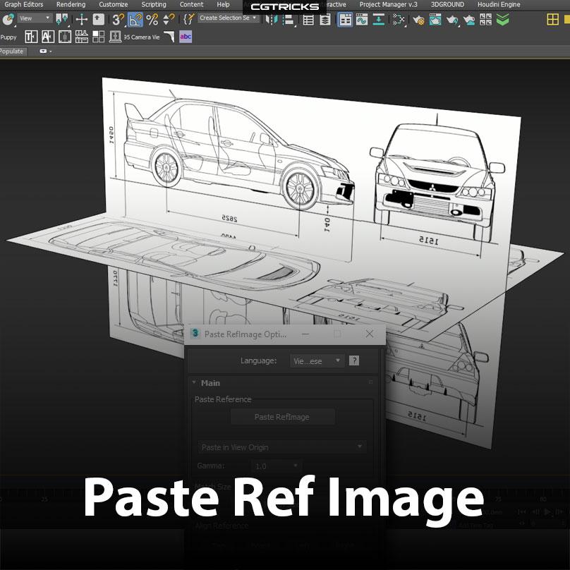 Paste Ref Image