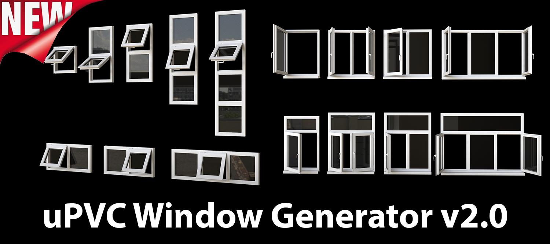 1500×500 | uPVC Window Generator v2.0