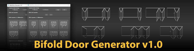 1500×400 | Bifold Door Generator v1.0
